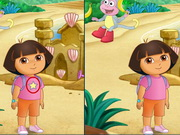 Dora The Explorer,Find The Differences