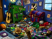 Hidden Objects Messy Rooms